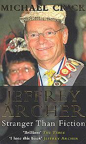 Jacket for 'Jeffrey Archer: Stranger than Fiction'