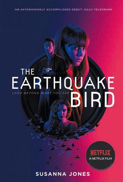 Jacket for 'The Earthquake Bird'