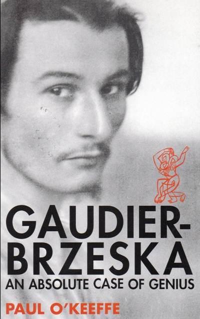 Jacket for 'Gaudier Brzeska: an Absolute Case of Genius'