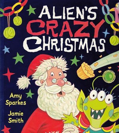 Jacket for 'Alien's Crazy Christmas'