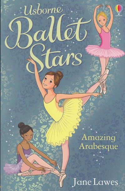 Jacket for 'Ballet Stars: Amazing Arabesque'