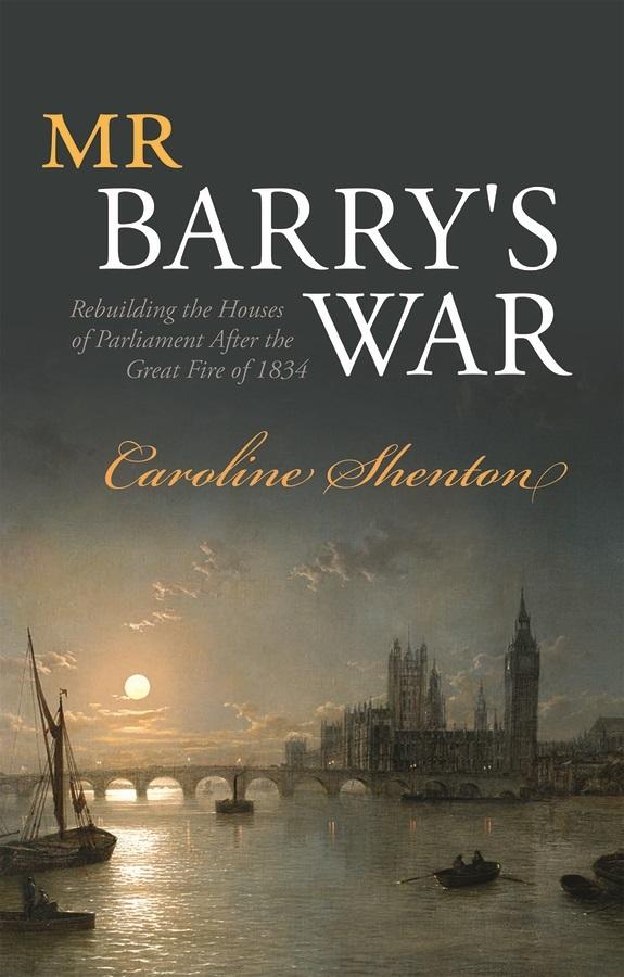Jacket for 'Mr Barry's War'