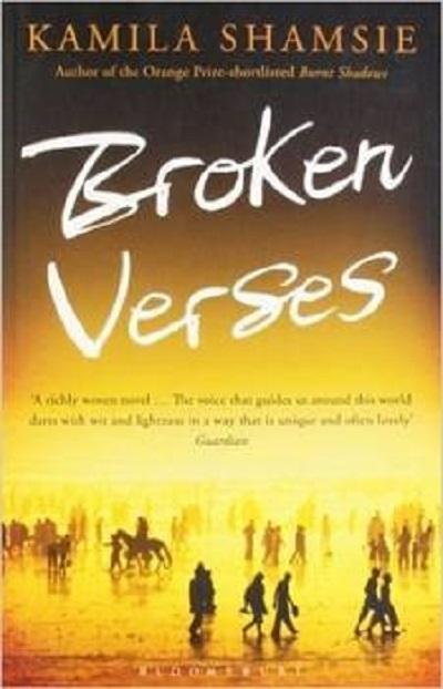 Jacket for 'Broken Verses'