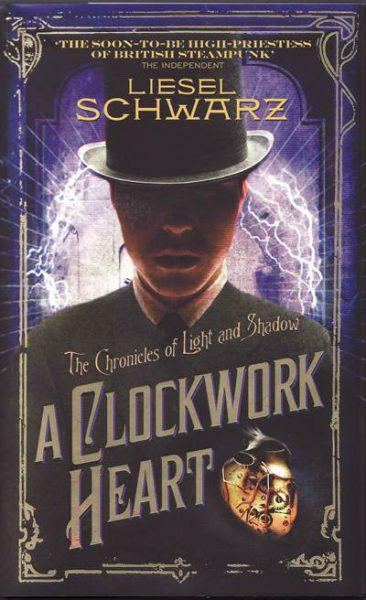 Jacket for 'A Clockwork Heart'