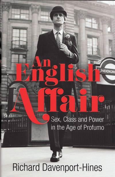 Jacket for 'An English Affair'