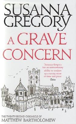 Jacket for 'A Grave Concern'