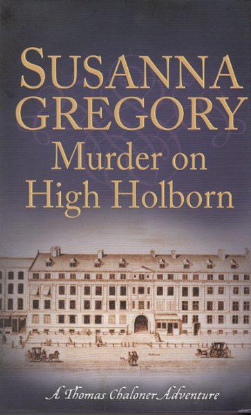 Jacket for 'Murder on High Holborn'