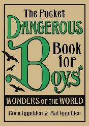 Jacket for 'Pocket Dangerous Book for Boys: Wonders of the World'