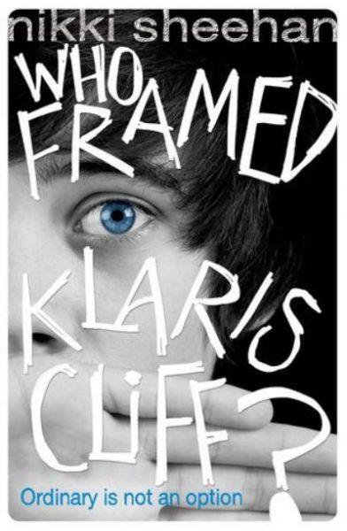 Jacket for 'Who Framed Klaris Cliff?'