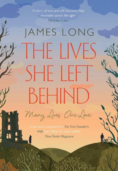 Jacket for 'The Lives She Left Behind'