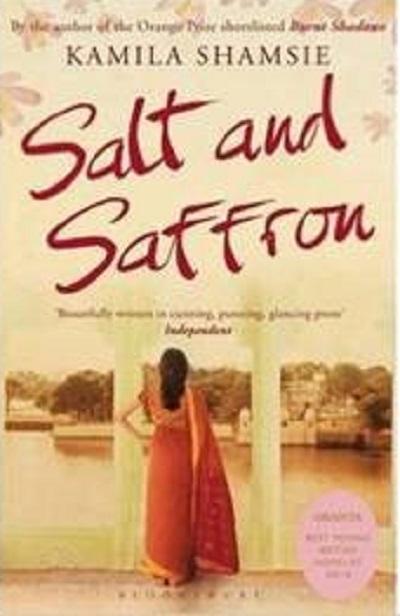 Jacket for 'Salt and Saffron'