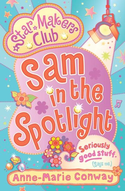 Jacket for 'Sam in the Spotlight'