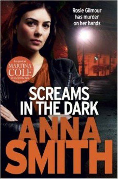 Jacket for 'Screams in the Dark'