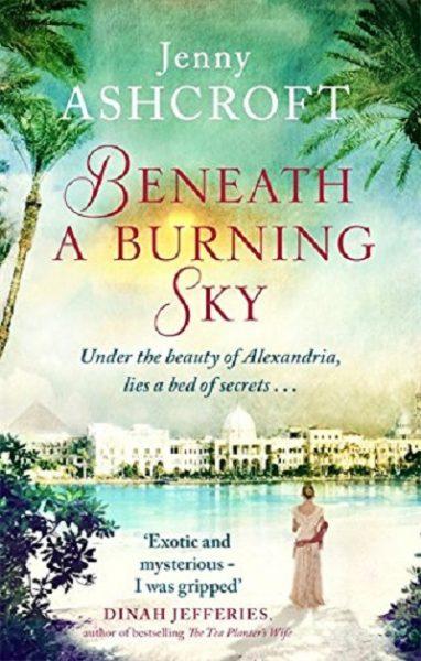 Jacket for 'Beneath a Burning Sky'