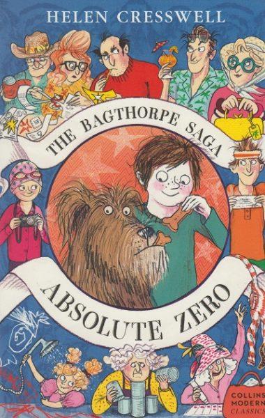 Jacket for 'Absolute Zero: The Bagthorpe Saga'