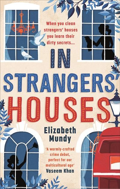 Jacket for 'In Strangers' Houses'