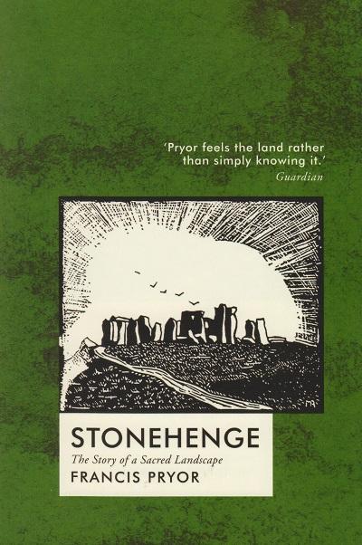 Jacket for 'Stonehenge. The Story of a Sacred Landscape'