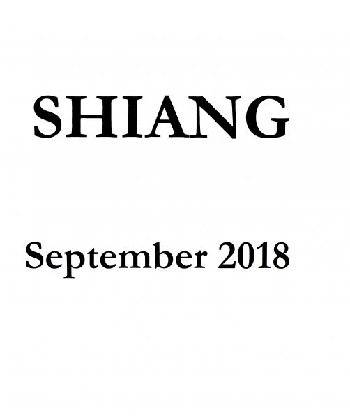 Jacket for 'Shiang'