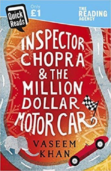 Jacket for 'Inspector Chopra and the Million Dollar Motor Car'