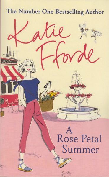 Jacket for 'A Rose Petal Summer'