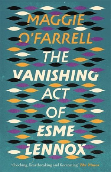 Jacket for 'The Vanishing Act of Esme Lennox'